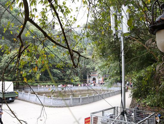Viettel tin tưởng với hệ thống 2G, 3G, 4G thì liên lạc trong lễ hội đền Hùng sẽ được thông suốt