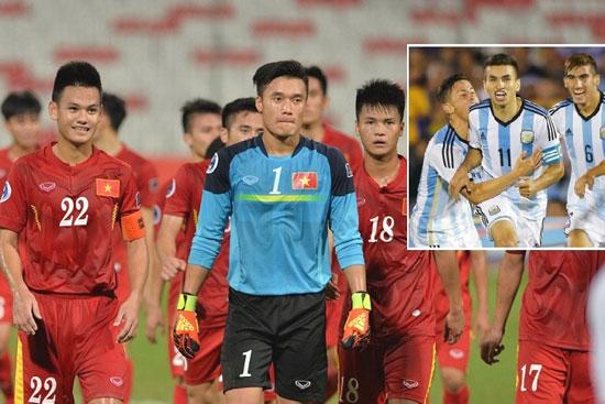 Trận đấu giữa U20 Việt Nam và U20 Argentina sẽ là bài test quan trọng cho cả 2 đội