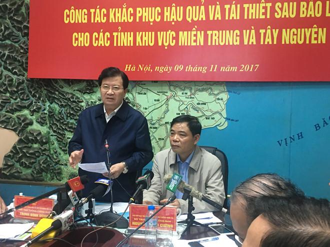 Phó thủ tướng Trịnh Đình Dũng chủ trì hội nghị.