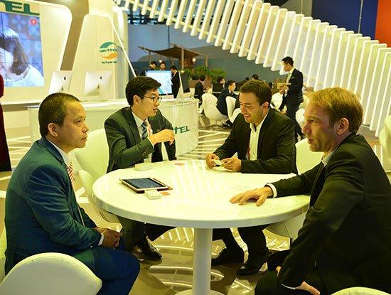 MWC là cơ hội để Viettel gặp gỡ, kết nối và mở ra các hoạt động hợp tác, đầu tư cùng các doanh nghiệp trong lĩnh vực Di động toàn cầu.