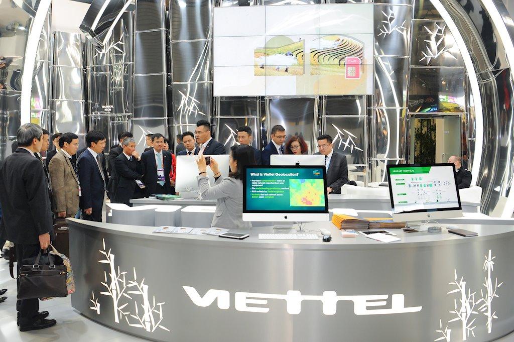 Gian hàng Viettel tại MWC 2019