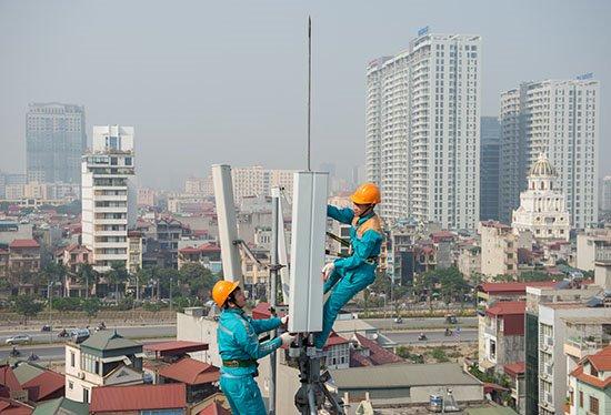 Đại diện Viettel cho biết, đến nay tập đoàn này đã xây dựng một hạ tầng mạng viễn thông di động băng rộng 4G phủ tới 95% dân số Việt Nam.