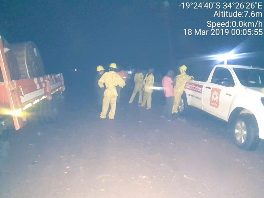 Nhân viên Movitel ứng cứu mạng lưới trong đêm