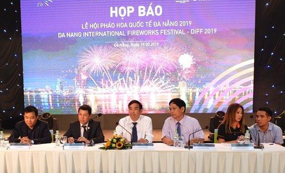 UBND thành phố Đà Nẵng và Tập đoàn Sun Group đã tổ chức họp báo chính thức công bố Lễ hội pháo hoa Quốc tế Đà Nẵng 2019