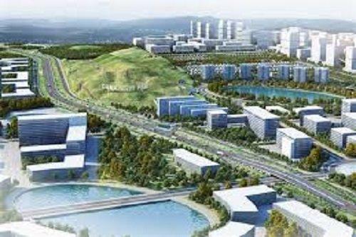 Nhiều dự án đầu tư vào Khu công nghệ cao Đà Nẵng. Ảnh: Internet