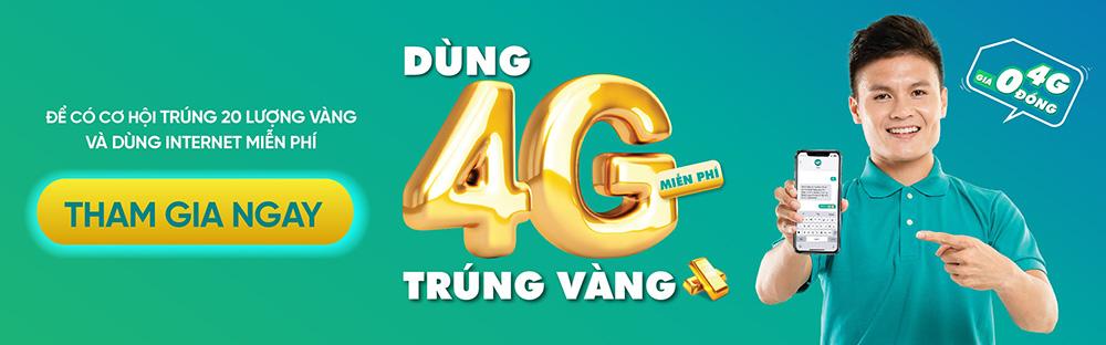 Mang Viettel - Thể Lệ Chương Trình Quay Số Trúng Thưởng 4G
